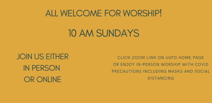 All Welcome for Worship